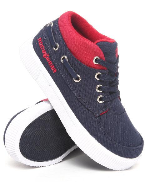 Rocawear Boys Navy Roc The Boat Sneaker (11-3)