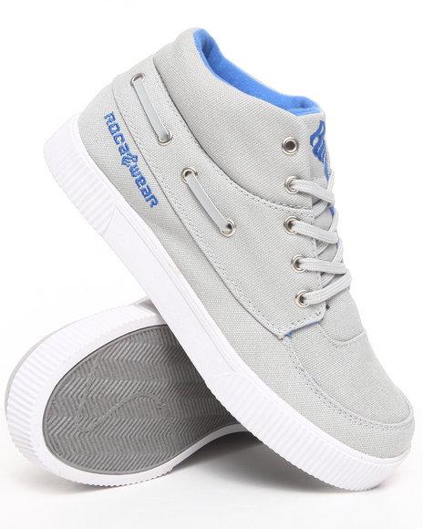 Rocawear Boys Light Grey Roc The Boat Sneaker