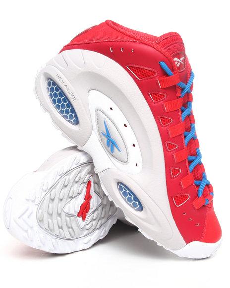 Reebok Men Red Emmitt Smith Es22 Sneakers