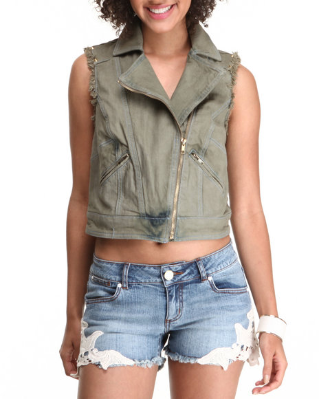 Chord Olive Fashion Tops