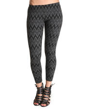 Leggings - Sweater Print Leggings