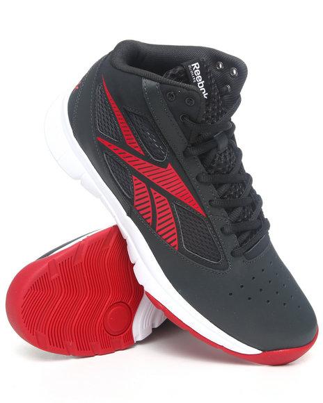 Reebok Men Black Reebok Sublite Sneakers