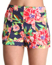 Bottoms - FLORAL SHORTS