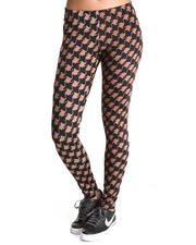 Leggings - Leah Houndstooth Legging