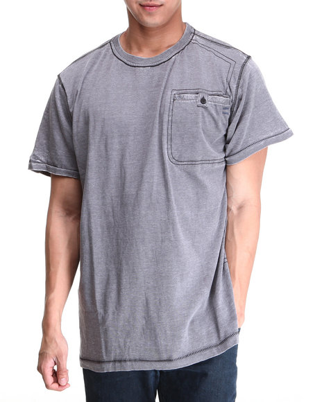 Buyers Picks - Men Grey Futuristic Tee