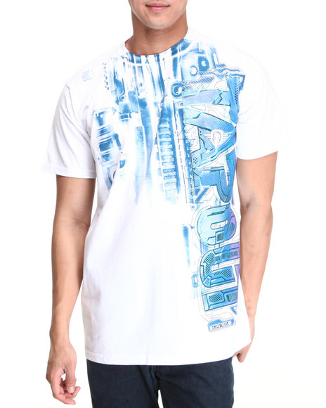 TAPOUT Men White Tapout Frost Tee
