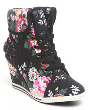 Fashion Lab - Blue Bell Floral Sneaker