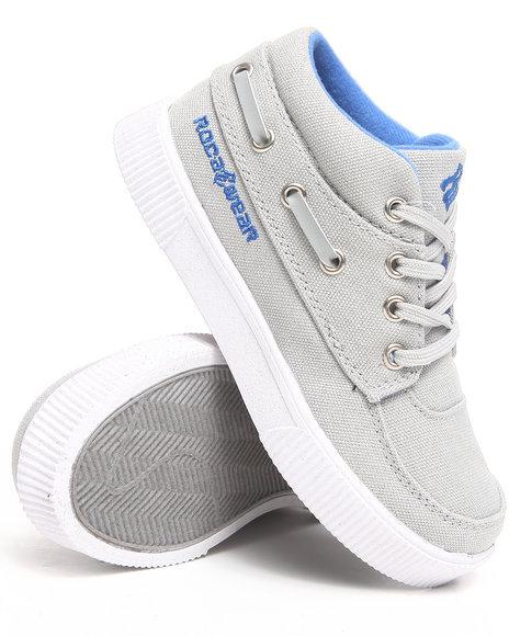 Rocawear Boys Light Grey Roc The Boat Sneaker (11-3)