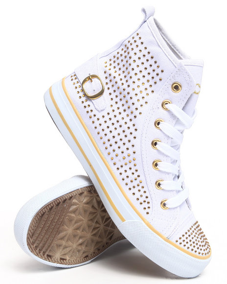 Fashion Lab Women Rida Sneaker WStones White 10