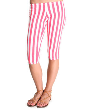 Fashion Lab - Hatter Railroad Stripe Capri