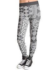 Fashion Lab - Tribal Printed leggings