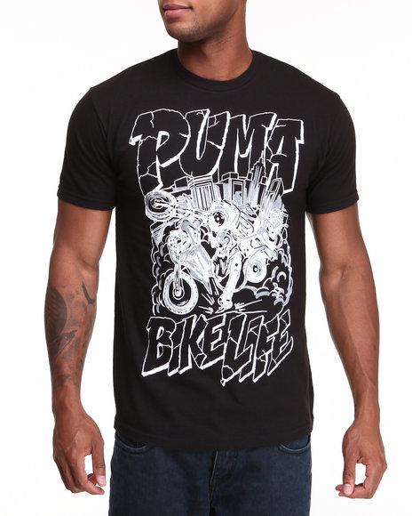 Puma Men Black Puma Bike Life Tee