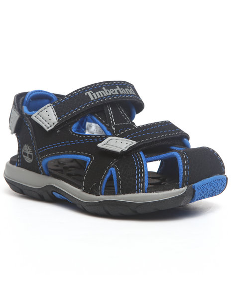 Timberland Boys Black Mad River Closed Toe Sandals (Td)