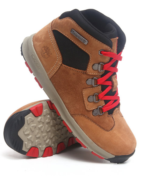 Timberland Boys Brown Gt Scramble Lace Chukka Boots (3.5-7)