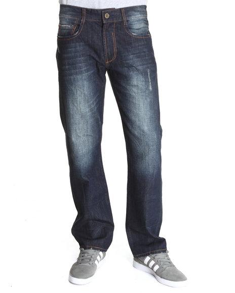 Syn Jeans Dark Wash Cobalt Skinny Fit Denim Jeans