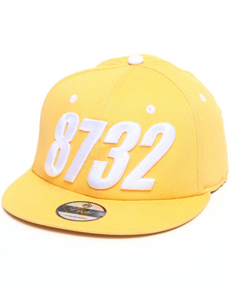 Men 8732 Snapback Yellow