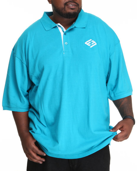 Enyce Men Teal High Road Polo (B&T)