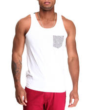 Shirts - Zebra Pocket Tank