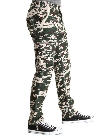 Syn Jeans Camo Camo Stack Cargo Pants