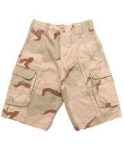 Bottoms - Desert Camo Paratrooper Shorts (8-20)