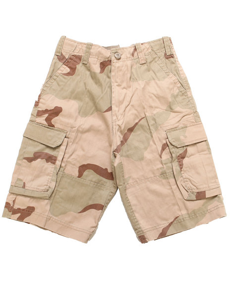 DRJ Army/Navy Shop - Desert Camo Paratrooper Shorts (8-20)