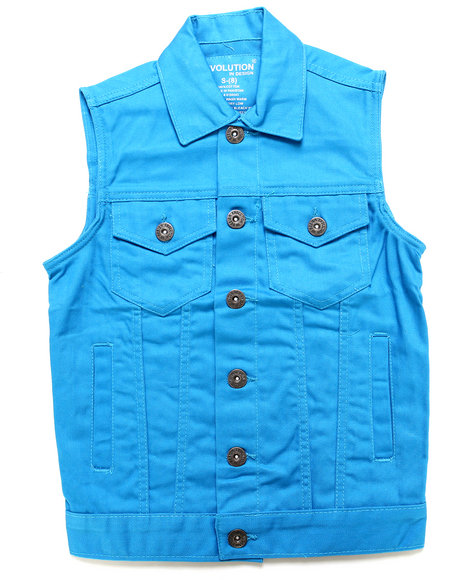 Blue Vests