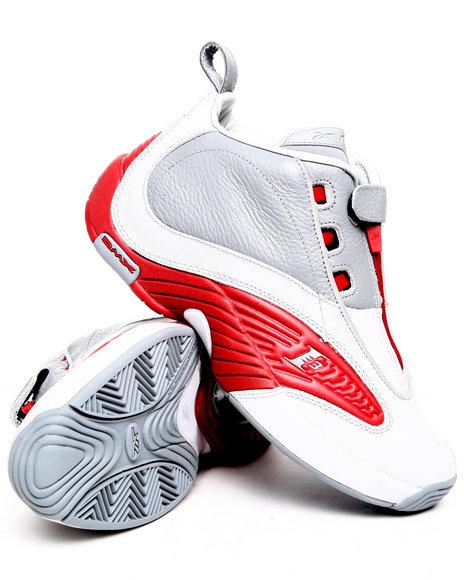 Reebok Men Grey Iverson Answer Iv Sneakers