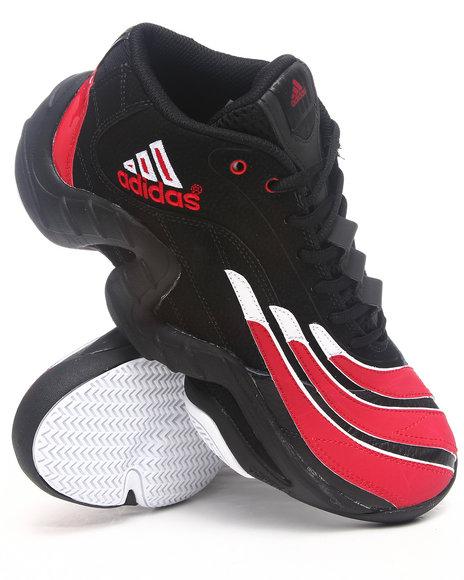 Adidas Men Black Real Deal Sneakers