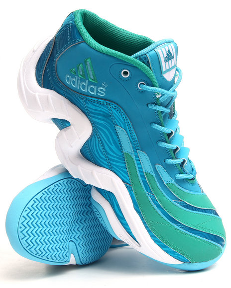 Adidas Men Teal Real Deal Sneakers