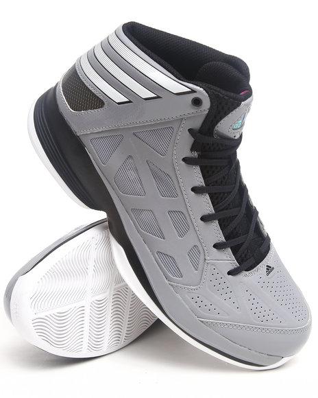 Adidas Men Grey Crazy Shadow Sneakers