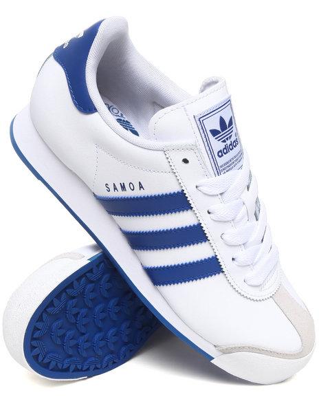 Adidas Men Blue Samoa Sneakers