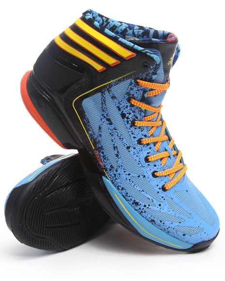 Adidas Men Blue Adizero Crazy Light 2 Sneakers