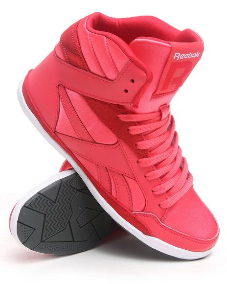 Reebok Women Coral,Pink Rhythmcity Mid Sneakers