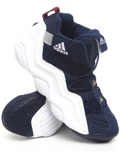 Adidas Men Indigo,White Equipment Top Ten 2000 Sneakers