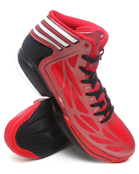 Adidas Men Red Adizero Crazy Light 2 Sneakers