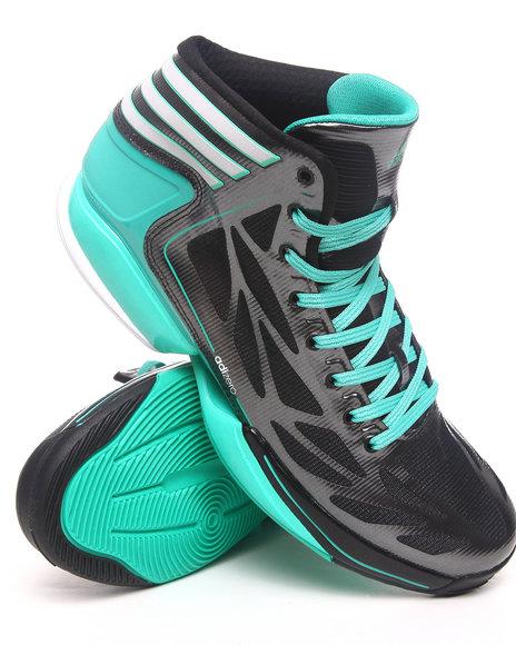 Adidas Men Black,Teal Adizero Crazy Light 2 Sneakers