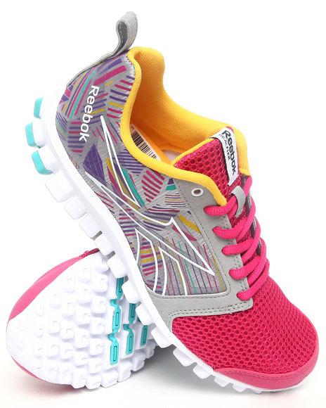 Reebok Women Grey Realflex Scream 2.0 Sneakers