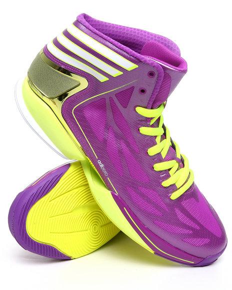 Adidas Men Purple As Smu Adizero Crazy Light 2 Promo Sneakers