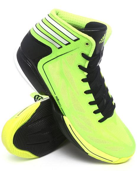 Adidas Men Yellow Adizero Crazy Light 2 Sneakers