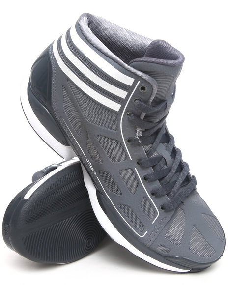 Adidas Men Grey Adizero Crazy Light Sneakers