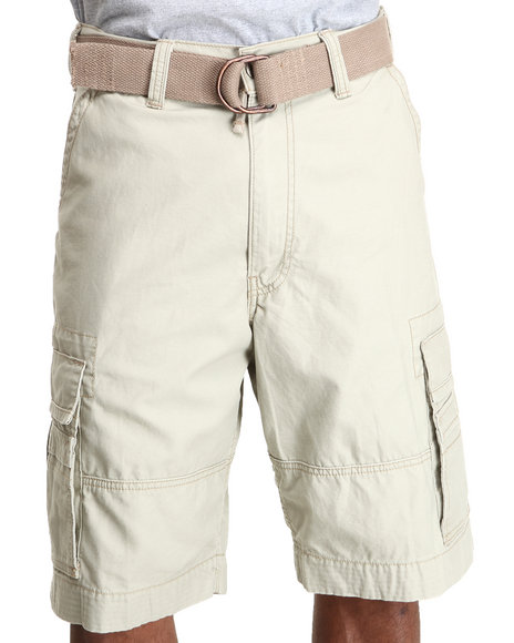 Levi's Khaki Squad Eucalyptus Twill Cargo Shorts