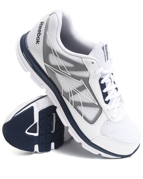 Reebok Men White Reebok Dual Turbo Sneakers