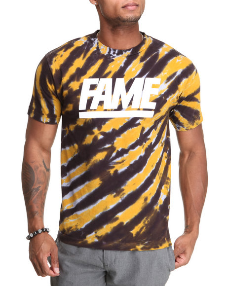 Hall of Fame Orange Tie Dye Tee
