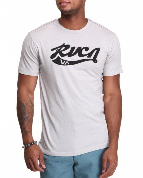 RVCA Light Grey Crola Tee