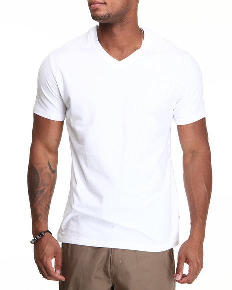 Mens nautica shirts nautica clothing at for V neck white t shirts for men