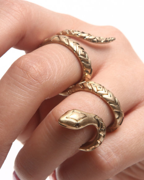 DRJ Accessories Shoppe - Women Gold Snake Ring