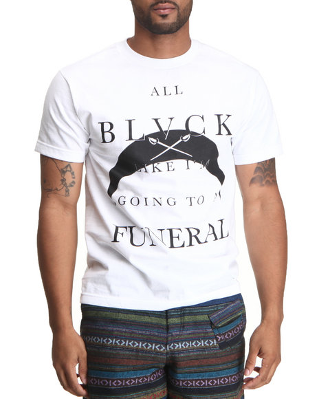 Blvck Scvle - Men White All Blvck Tee