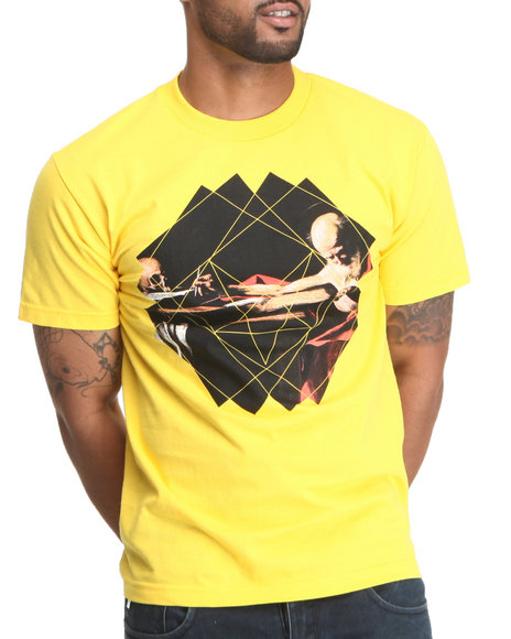 BLVCK SCVLE Yellow It Was Written Tee