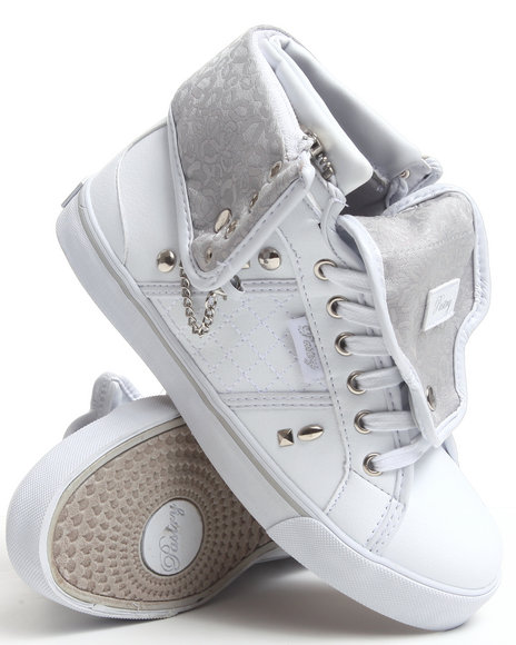 Ur-ID 185037 Pastry - Women White Sugar Rush Spikes Sneaker