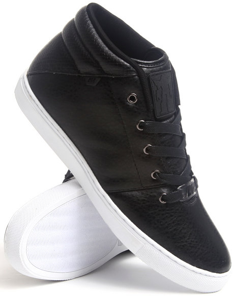 AH by Android Homme Black Modern Mid Sneakers